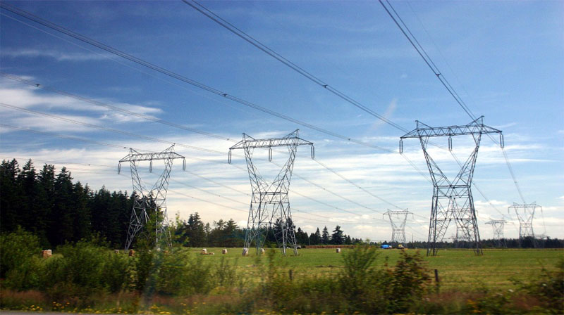 Transmission lines and power distribution